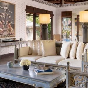 Bali Honeymoon Packages The Chedi Club Tanah Gajah, Ubud The Hadiprana Villa Living Area