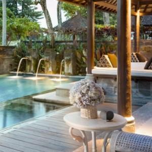 Bali Honeymoon Packages The Chedi Club Tanah Gajah, Ubud The Hadiprana Villa Pool