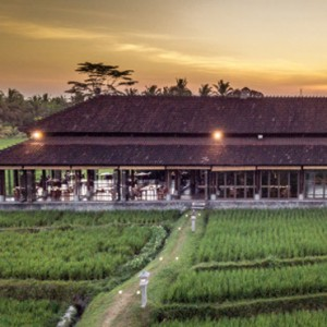 Bali Honeymoon Packages The Chedi Club Tanah Gajah, Ubud The Restaurant Exterior1