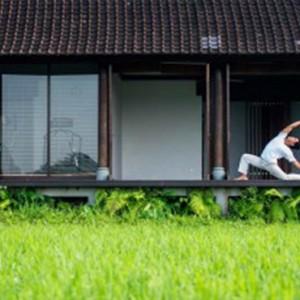 Bali Honeymoon Packages The Chedi Club Tanah Gajah, Ubud Yoga