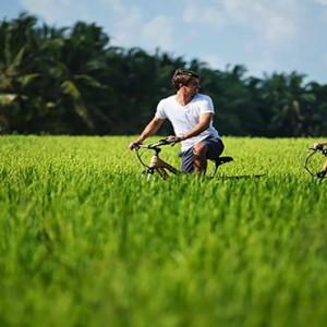Bali Honeymoon Packages The Chedi Club Tanah Gajah, Ubud Cycling