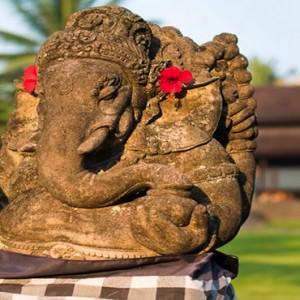Bali Honeymoon Packages The Chedi Club Tanah Gajah, Ubud Ganesha Sculptures