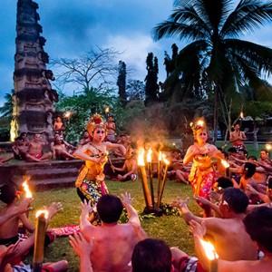 Bali Honeymoon Packages The Chedi Club Tanah Gajah, Ubud Kecak Dinner And Dance