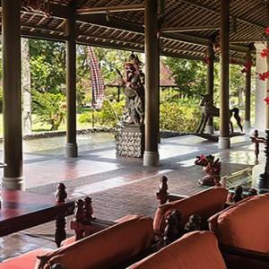 Bali Honeymoon Packages The Chedi Club Tanah Gajah, Ubud Lobby
