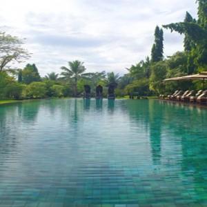 Bali Honeymoon Packages The Chedi Club Tanah Gajah, Ubud Pool