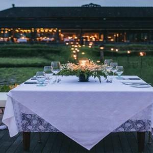 Bali Honeymoon Packages The Chedi Club Tanah Gajah, Ubud Romantic Dining