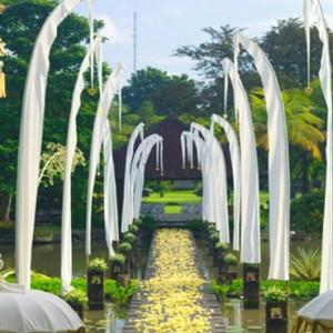 Bali Honeymoon Packages The Chedi Club Tanah Gajah, Ubud Wedding Setup1