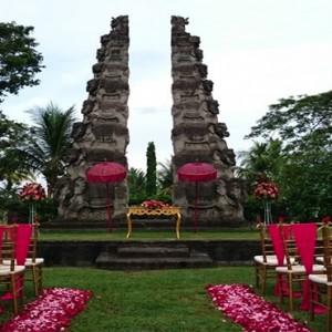 Bali Honeymoon Packages The Chedi Club Tanah Gajah, Ubud Wedding Setup2
