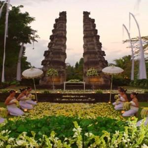 Bali Honeymoon Packages The Chedi Club Tanah Gajah, Ubud Wedding Setup3
