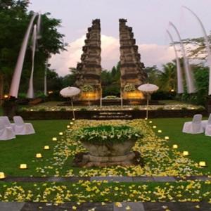 Bali Honeymoon Packages The Chedi Club Tanah Gajah, Ubud Wedding Setup4