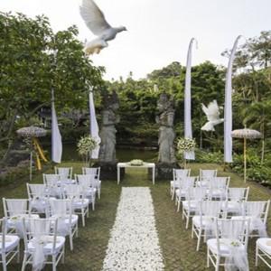 Bali Honeymoon Packages The Chedi Club Tanah Gajah, Ubud Wedding Setup5
