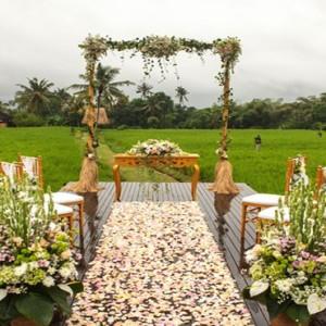 Bali Honeymoon Packages The Chedi Club Tanah Gajah, Ubud Wedding1