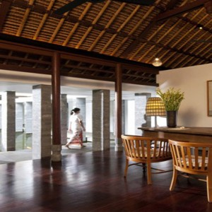 Bali Honeymoon Packages COMO Uma Ubud COCO Shambhala Reception