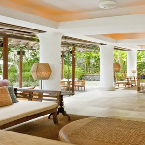 Bali Honeymoon Packages COMO Uma Ubud Pool Bar Interior