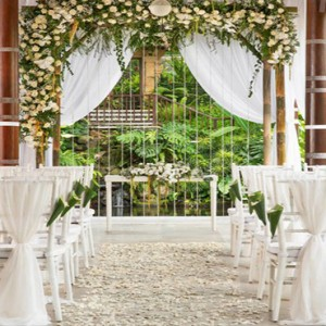 Bali Honeymoon Packages COMO Uma Ubud Wedding Setup
