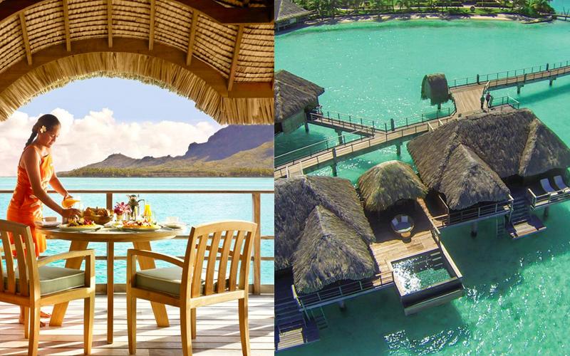 Luxury Honeymoon Packages Dining Experiences Bora Bora