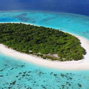 Maldive Honeymoon Packages Faarufushi Maldives Aerial View