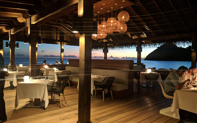 Romantic Holiday Packages At St Lucia Sandals Grande St Lucian Dining