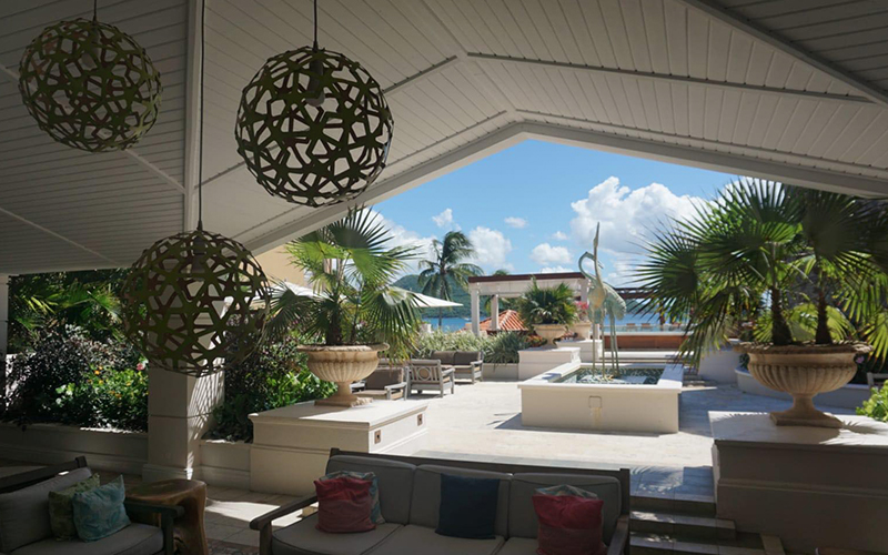 Romantic Holiday Packages At St Lucia Sandals Grande St Lucian Dining 3