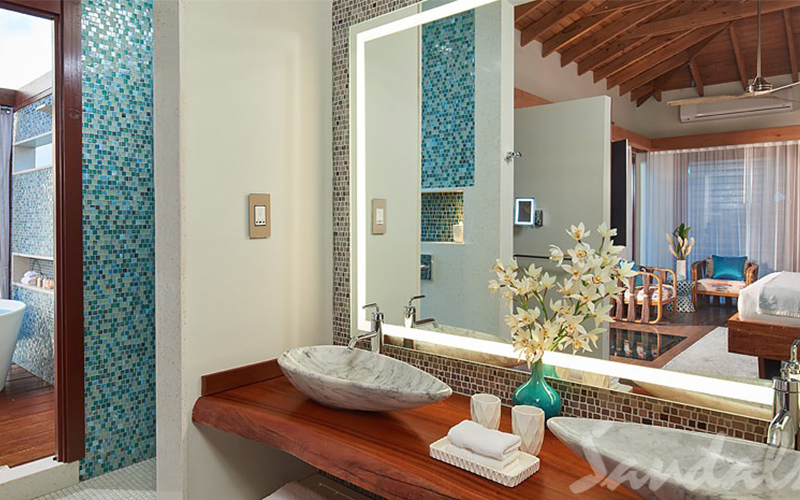 Romantic Holiday Packages At St Lucia Sandals Grande St Lucian Overwater Villas 4