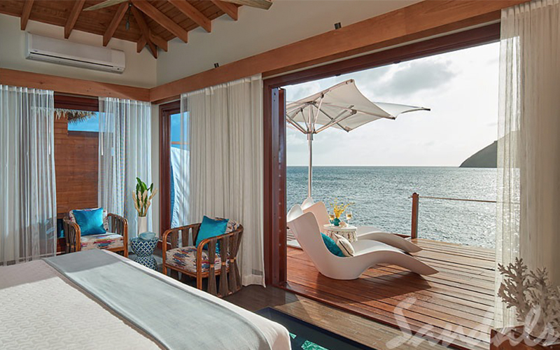 Romantic Holiday Packages At St Lucia Sandals Grande St Lucian Overwater Villas 7