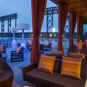 San Francisco Honeymoon Packages Hotel VIA San Francisco Rooftop Bar
