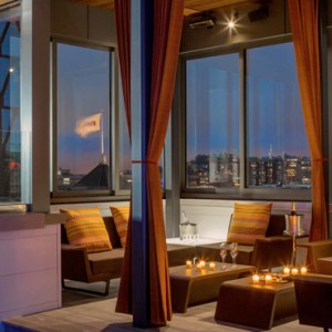 San Francisco Honeymoon Packages Hotel VIA San Francisco Rooftop Bar 3