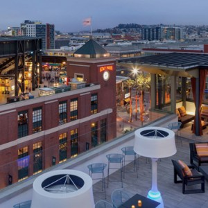 San Francisco Honeymoon Packages Hotel VIA San Francisco Rooftop Bar 4