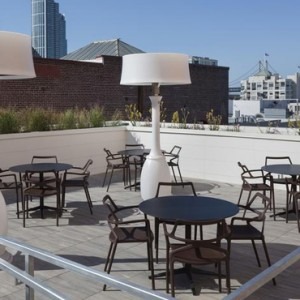 San Francisco Honeymoon Packages Hotel VIA San Francisco Rooftop Bar 5