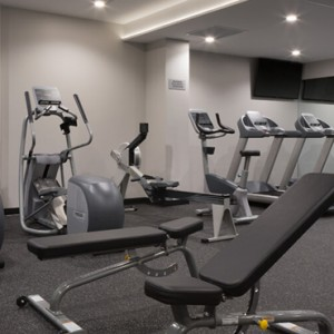 San Francisco Honeymoon Packages Hotel VIA San Francisco Gym