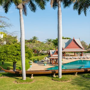 Thailand Honeymoon Packages Chiva Som Hua Hin Pools Outdoor