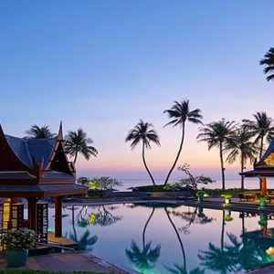 Thailand Honeymoon Packages Chiva Som Hua Hin Pool By Restaurant