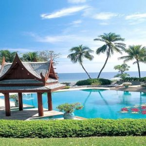 Thailand Honeymoon Packages Chiva Som Hua Hin Pool In The Day