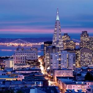 San Francisco Honeymoon packages - the ritz-carlton san francisco - city views
