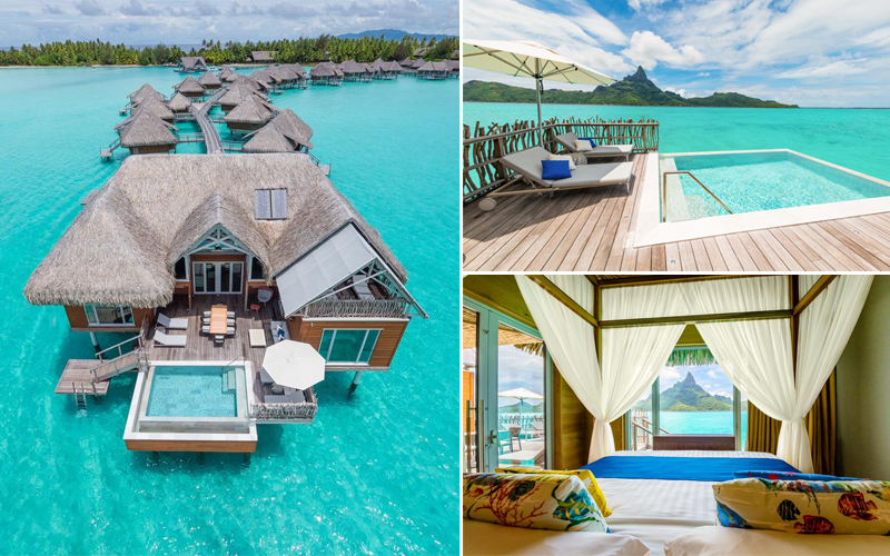 10 Most Romantic Villas In South Pacific Bora Bora Honeymoon Packages Intercontinental