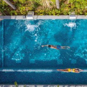 Cyprus Honeymoon Packages Amavi Hotel Cyprus Couple In Evera Outdoor Pool1