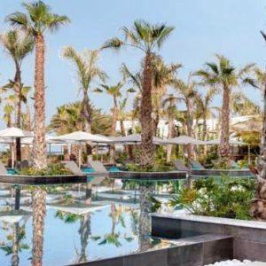 Cyprus Honeymoon Packages Amavi Hotel Cyprus Saffire Pool Sun Loungers