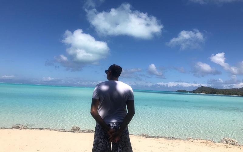 Malkeet And Rajbir's Bora Bora And Las Vegas Honeymoon Bora Bora
