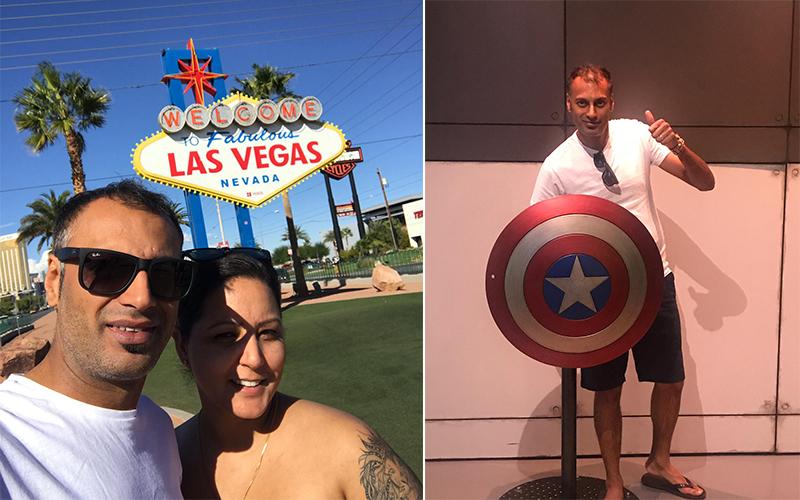 Malkeet And Rajbir's Bora Bora And Las Vegas Honeymoon Las Vegas
