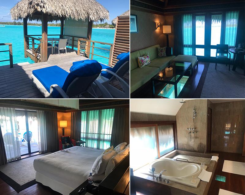 Malkeet And Rajbir's Bora Bora And Las Vegas Honeymoon St Regis Bora Bora Hotel Rooms
