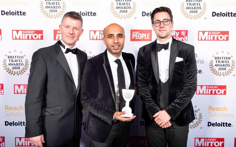 British Travel Awards 2018 Award Winning Travel Agency In Birmingham 1