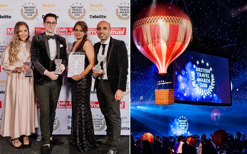 British Travel Awards 2018 Award Winning Travel Agency In Birmingham 2