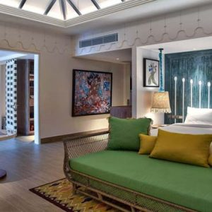 Maldives Honeymoon Packages SAii Lagoon Maldives, Curio Collection By Hilton 2 Bedroom Over Water Pool Villa2