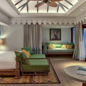 Maldives Honeymoon Packages SAii Lagoon Maldives, Curio Collection By Hilton 2 Bedroom Over Water Pool Villa3