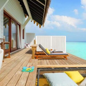 Maldives Honeymoon Packages SAii Lagoon Maldives, Curio Collection By Hilton 2 Bedroom Over Water Pool Villa6
