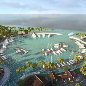 Maldives Honeymoon Packages SAii Lagoon Maldives, Curio Collection By Hilton Hotel Exterior