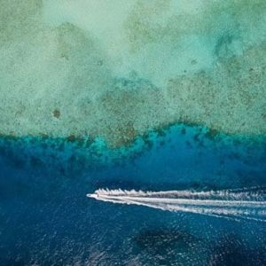 Maldives Honeymoon Packages SAii Lagoon Maldives, Curio Collection By Hilton Laoon Aerial View