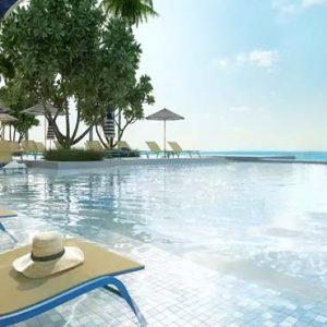 Maldives Honeymoon Packages SAii Lagoon Maldives, Curio Collection By Hilton Main Pool