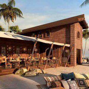 Maldives Honeymoon Packages SAii Lagoon Maldives, Curio Collection By Hilton Restaurant Beach Exterior