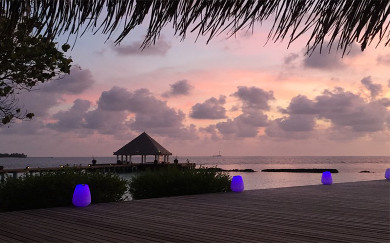 Mathew And Cara's Unforgettable Maldives Honeymoon Coco Palm Bodu Hithi Location